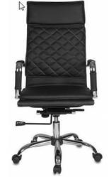 Кресло руководителя Бюрократ CH-991 чёрная экокожа