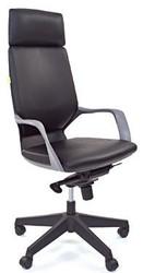 Кресло руководителя CHAIRMAN 230 black экокожа черная